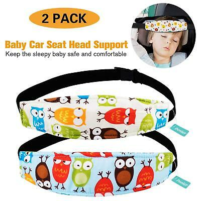 2 Packs Toddler Car Seat Neck Relief and Head Support, Pillow Support Head Band