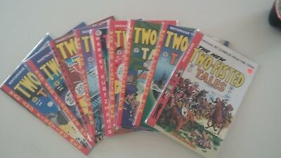 """""""Two Fisted Tales"""" Lot of 12 1990's Printing - Excellent condition"""