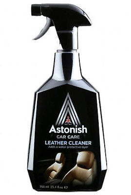 ** Astonish Car Care Leather Cleaner Spray 750Ml New ** Water Protective Layer