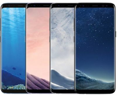 Samsung Galaxy S8+ Plus SM-G955U 64GB Unlocked Smartphone GREAT for All Carriers
