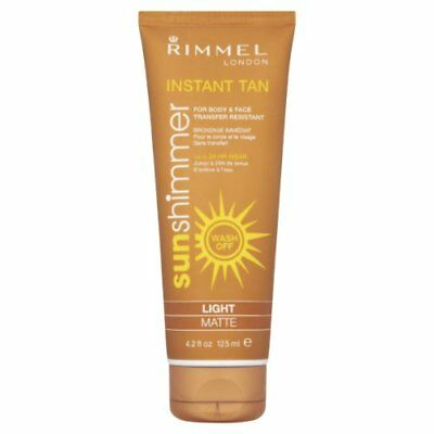 Rimmel Sunshimmer Instant Tan 125ml Light Matte