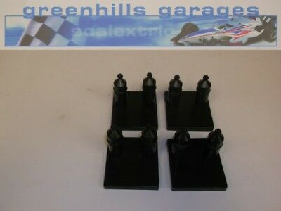 Greenhills Scalextric / Carrera Go!!! double track supports with square bases...