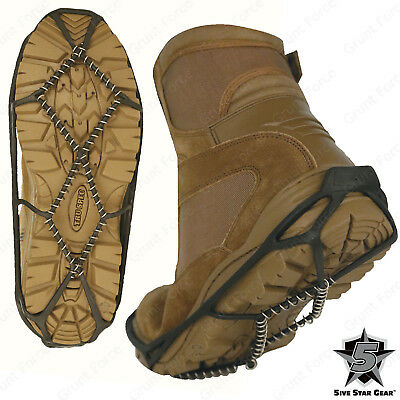 5ive Star Gear Tactical Ice Grip Boot Accessory - Helps Prevent Slips & Falls