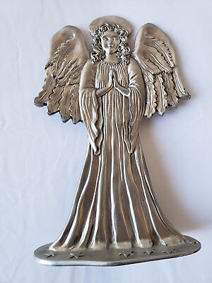 Vintage Seagull Pewter Canada Standing Angel Figurine 1986