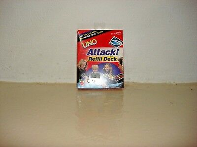 Mattel Uno Attack Electronic Card Game Replacement New Partial Deck