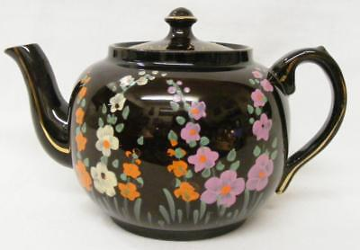 """Vintage World War II TEAPOT """"For England And Democracy"""" """"Escorted by Royal Navy"""""""