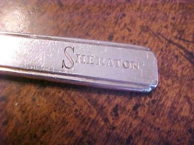 Vtg. Silverplate Ice Tea Spoon Marked Sheraton-French Lick Indiana?