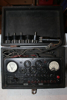 Vintage Readrite Radio Tube Checker Tester Model 730-A Triplett 223 Rare