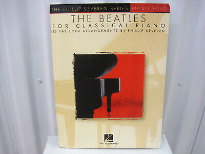 THE BEATLES FOR Solo Piano Sheet Music Piano Solo Book NEW