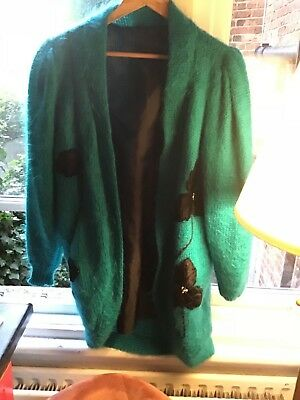 vintage mohair cardigan one size
