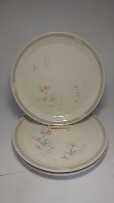 "Set of THREE Noritake 9172 Pennfield 10 5/8"" Dinner Plates"