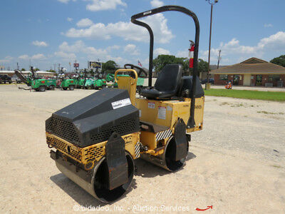 2011 Multiquip AR13HA Smooth Double Drum Vibratory Ride On Roller MQ Compactor