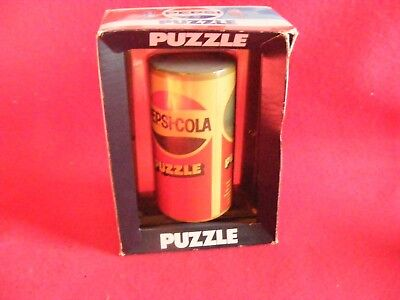 Pepsi-Cola Puzzle in The original display Carton