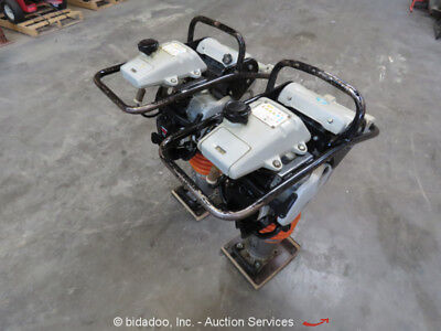 Lot of (2) Mulitquip MTX70HD Jumping Jack Rammer Tamper Honda Gas 2.8 HP bidadoo