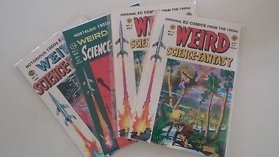 """""""Weird Science"""" Magazine Lot of 4 - Good condition"""