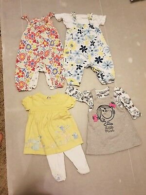Baby Girls Bundle Age 6-9months 4 outfits
