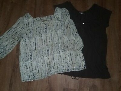 Womens lot of 2 Blouse, Top Old Navy,  a.n.a Size Large