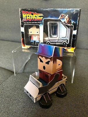 Back to the Future Papercraft Set Marty McFly DeLorean