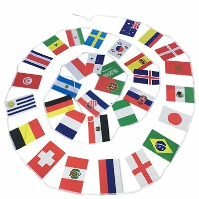 2018 FIFA World Cup Banner Flag String 2018 21st Russia Flags 20*30cm L7T3