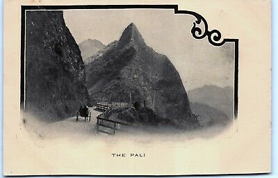 """The Pali"" Hawaii UDB Postal Card Postcard Private Mailing Unusual Postcard"