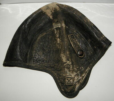 I have a c1930s Harley-Davidson Clipper leather skull cap aviator style