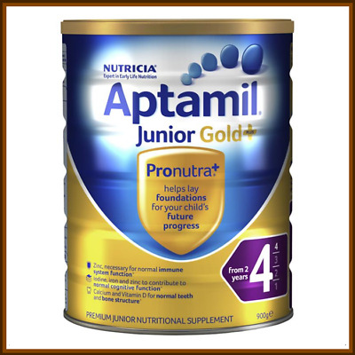 Aptamil Nutritional Junior Gold+ 4 From 2+years 900g