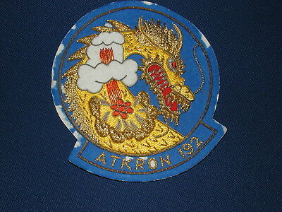 ATKRON 192 Special Order Goldwork Patch made with metal golden thread