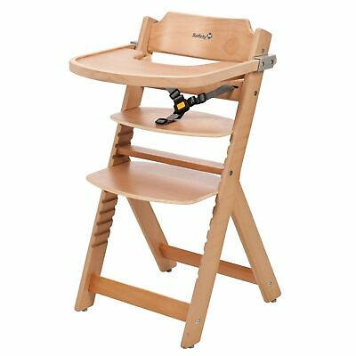 Safety 1st Baby Feeding Timba Wooden Highchair / High Chair / Junior Seat