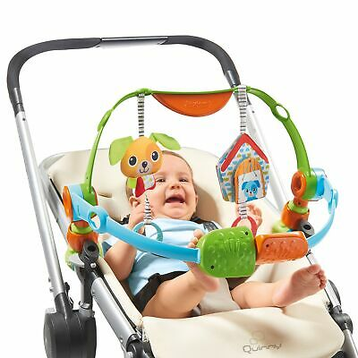 Tiny Love Spin 'N' Kick Discovery Arch Stroller Pushchair Bouncer Car Seat Toy