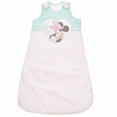 Obaby Disney Love Minnie Mouse 2.5 Tog Newborn Baby Sleeping Bag - 0 - 6 Months