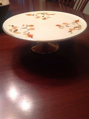 Hall China Cake Stand 9 1/2 Jewel Tea As Good As It Could Be