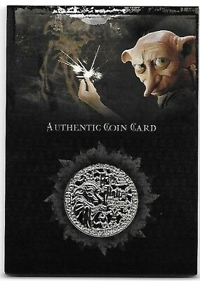 Harry Potter Memorable Moments CC1 Dobby Coin from Chamber of Secrets Card 2006