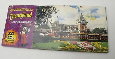 Vtg DISNEYLAND 1970's Disney Parks POST CARD SET (2) have been removed nice