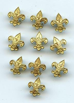 NOS 1960'S BSA BOY SCOUT 10 miniature MOTHER'S TENDERFOOT PIN mint unused leader