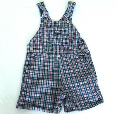 OshKosh boys/girls vintage denim short overalls size 4T
