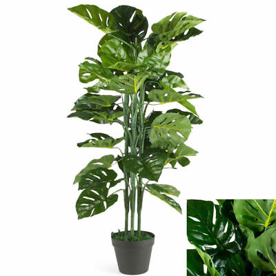 90cm Artificial Monstera Tree Plant Nearly Natural Fake Tree Office Home Decor