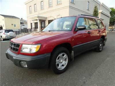 Forester L 1998 Subaru Forester ALL WHEEL DRIVE MAINTAINED Autumn FALL SPECIAL NO RESERVE !