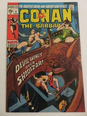 Conan The Barbarian #6 Vf+ 1St Appearance Of Fafnir
