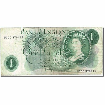 [#272037] Banknote, Great Britain, 1 Pound, 1960-1964, 1970-1977, KM:374g