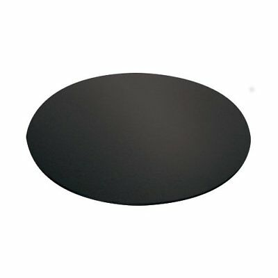 NEW Mondo Cake Board Round Black 10in/25cm