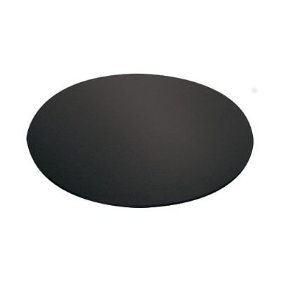 NEW Mondo Cake Board Round Black 8in/20cm
