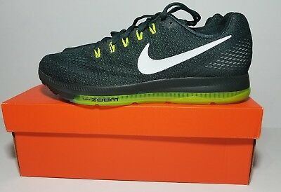 NEW Nike Zoom All Out Low Mens 878670-300 Seaweed Volt White Running Shoes SZ 12