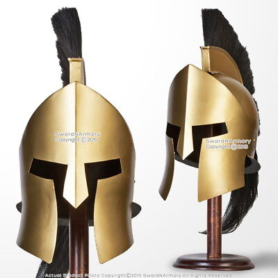 King Leonidas 300 Greek Spartan Trojan Warrior Helmet LARP Collectible Replica