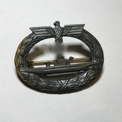 Original WWII German Kriegsmarine U-Boot Submarine Badge Friedrich Orth