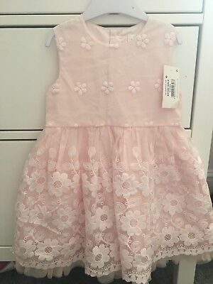 Girls Occasion Dress Pink - 2-3 Years Old