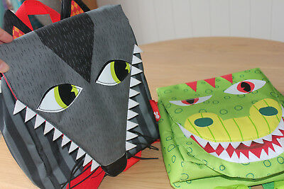 Super Cool JANOD Dragon and Wolf Shaped Backpacks PERFECT BAG FOR BOYS