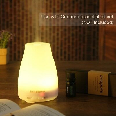 InnoGear Upgraded 150ml Aromatherapy Essential Oil Diffuser Portable Ultrasonic