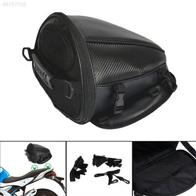 AD2A Leather Waterproof Motorcycle Tank Bag Saddle Pouch Storage Bag Gadgets