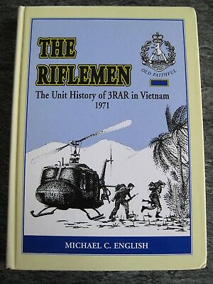 3 Rar Book The Riflemen Vietnam Infantry Battalion History Anzac 1St Edition