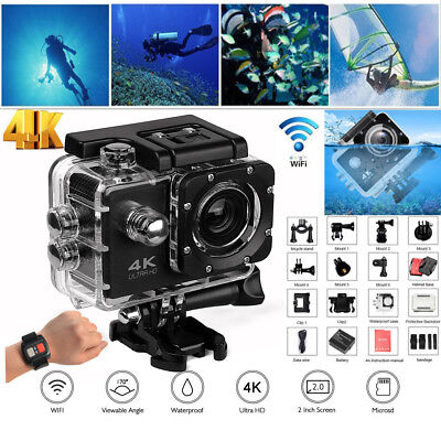 SJ9000 Ultra Waterproof WiFi Sports Action Camera DV Helmet Cam Camcorder Remote